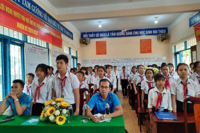 Đị Hội Liên Đội trường THCS Đinh Tiên Hoàng thành công tốt đẹp